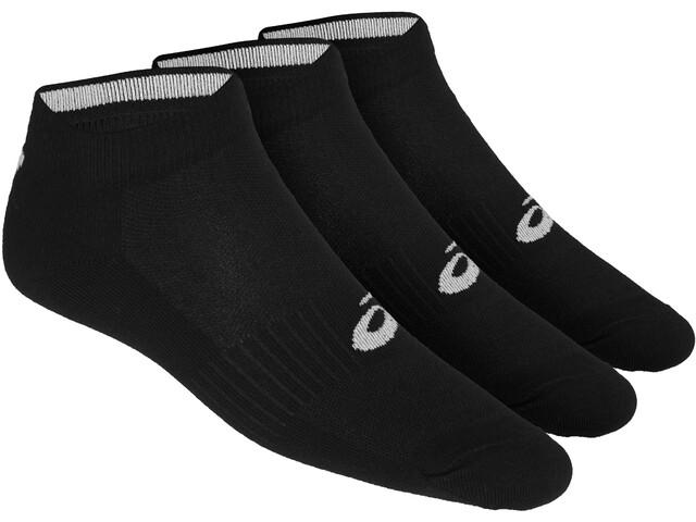 asics Ped - Chaussettes course à pied - pack de 3 noir